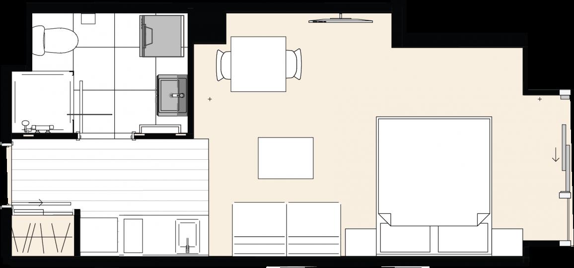 studio-floor-plan-the-residences-ellerslie